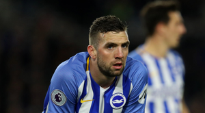 Cup aim: Brighton's Irish defender Shane Duffy is relishing tomorrow evening's FA Cup quarter-final clash with Manchester United at Old Trafford