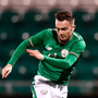 First blood: Rory Hale nets Ireland U21s' first goal in last night's friendly against Iceland at Tallaght Stadium