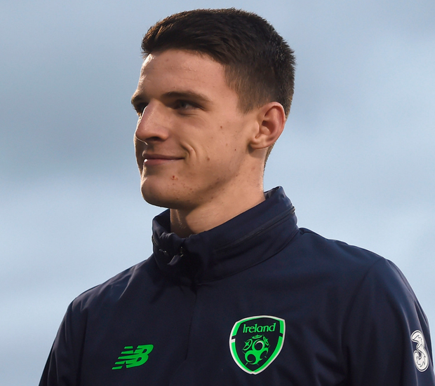 Focused: Declan Rice