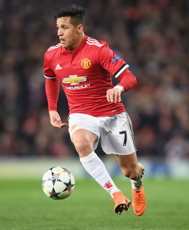 City snub: Alexis Sanchez will face Manchester City for the first time this evening since spurning their offer in favour of Manchester United last January