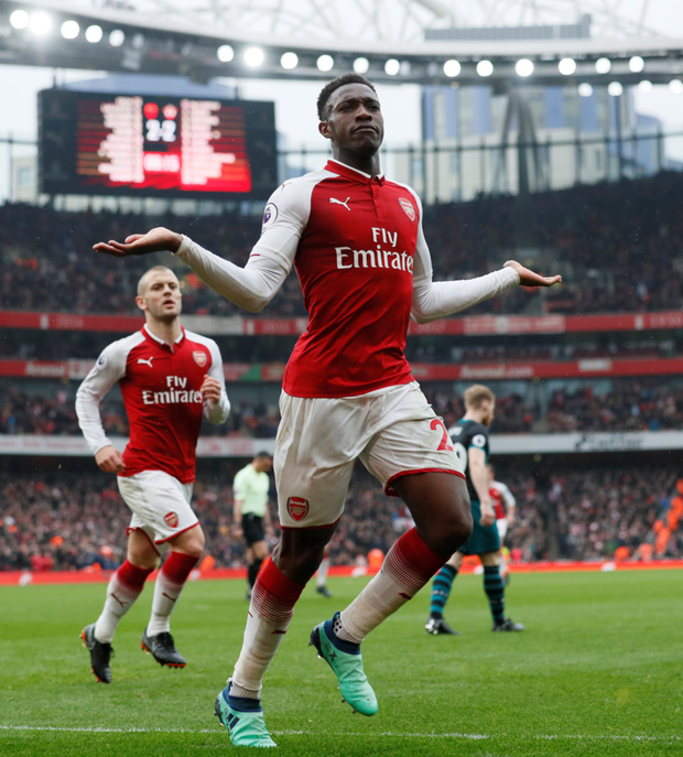 TOP GUN: Danny Welbeck Photo: Reuters