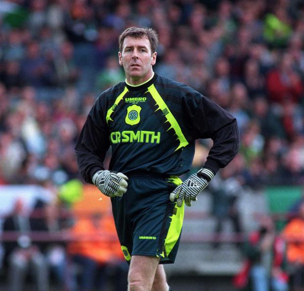 Former Ireland and Celtic goalkeeper Pat Bonner