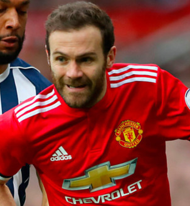 Man United's Juan Mata