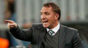 Gunners link: Celtic manager Brendan Rodgers