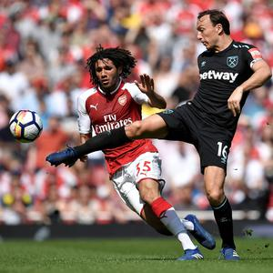 Mohamed Elneny. Pic: Reuters