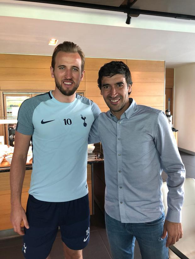 REAL INSPIRATION: Harry Kane and Raul