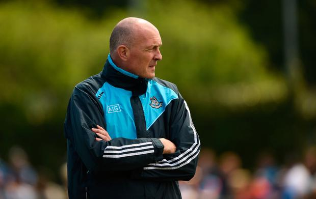 Dubs boss Pat Gilroy turns his focus to Wexford next Sunday. Photo: SPORTSFILE