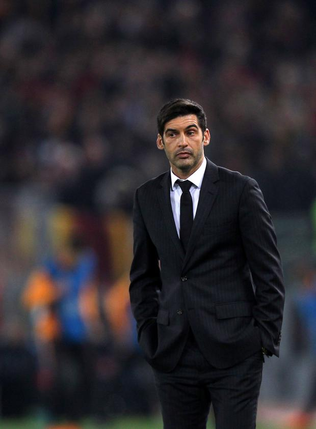 Shakhtar Donetsk manager Paulo Fonseca. Pic: Getty