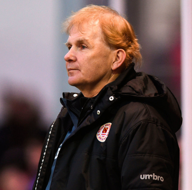 St Pat's boss Liam Buckley faces Derry City tonight