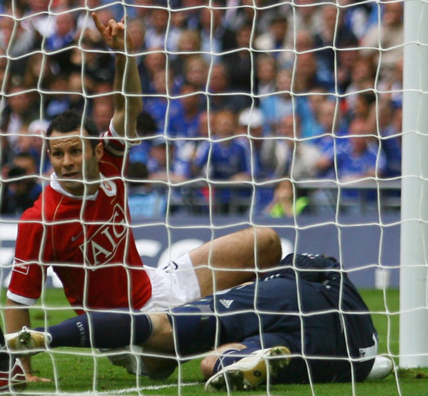 Goal claim: Ryan Giggs' 'goal that wasn't' in the 2007 FA Cup final
