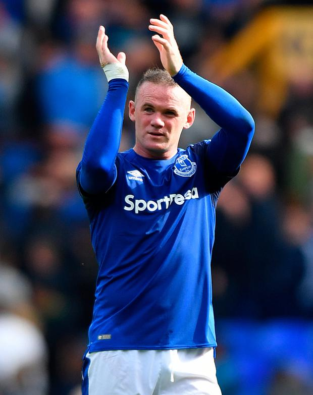 US LINK: Wayne Rooney. Pic: PA Wire