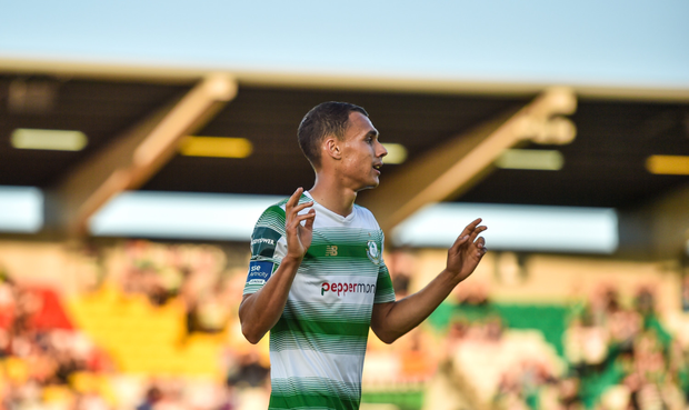 ROVER AND OUT: Graham Burke will depart Shamrock Rovers after tonight's game in Limerick. Pic: Sportsfile
