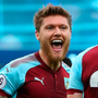 (l-r) Burnley's Jeff Hendrick and Stephen Ward