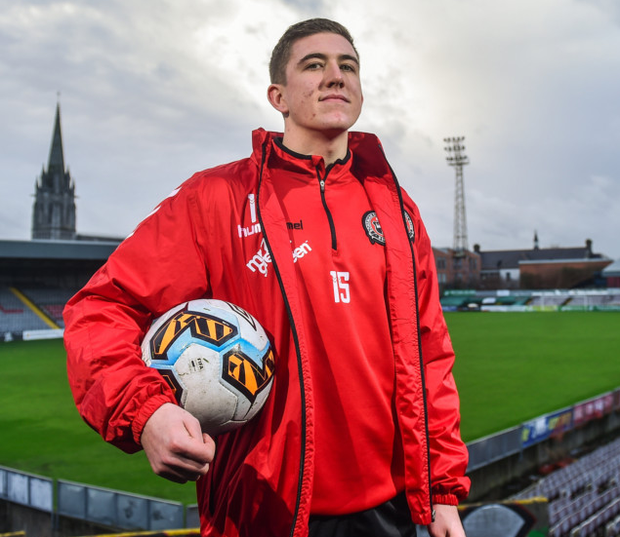 ONWARDS AND UPWARDS: Bohemians midfielder Oscar Brennan wants to re-ignite the club's season with a Dublin derby win over St Patrick's Athletic at Dalymount Park tonight
