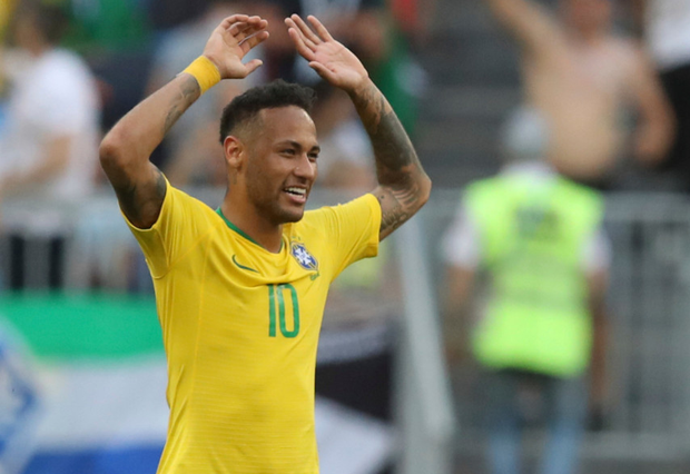 Neymar has been slated, especially in Britain, for diving, rolling and exaggerating fouls. AP Photo