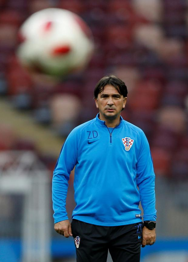 Coach Zlatko Dalic said his players had long been among the best in the world. Pic: Reuters