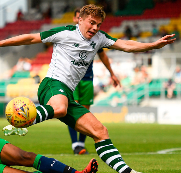 WIN: James Forrest. Pic: Sportsfile