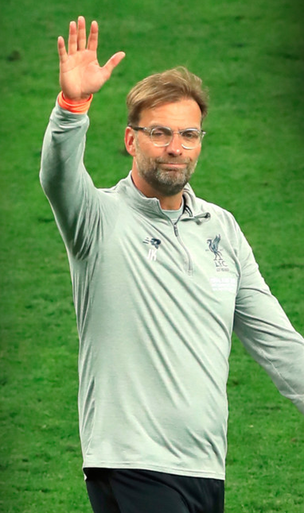 Jurgen Klopp. Photo: PA Wire