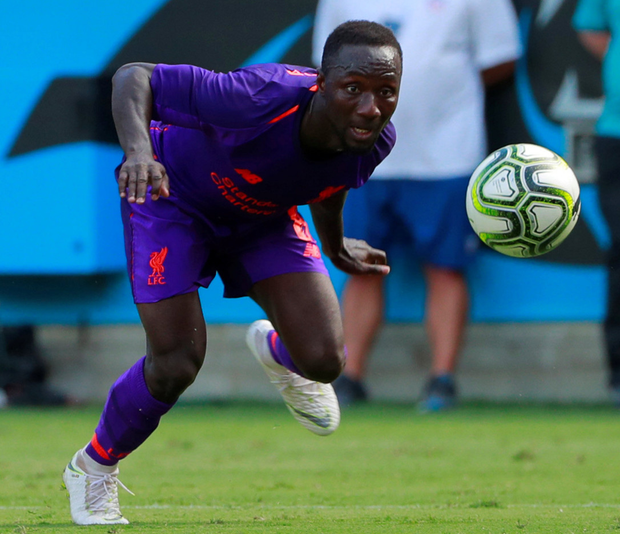 Liverpool midfielder Naby Keita misses training with…