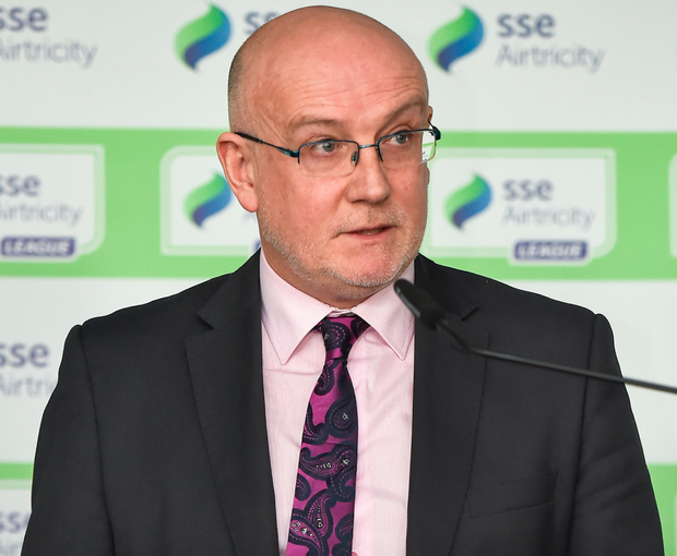 Point of view: Fran Gavin, FAI Director of Competitions, has said that the PFAI have the money to pay into the FAI's proposed players' fund