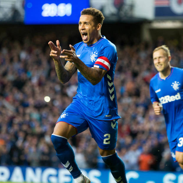 STRIKE: James Tavernier Photo: PA