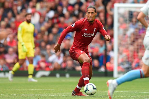 FOCUS: Virgil van Dijk. Pic: Getty