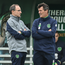 Ireland manager Martin O'Neill and is assistant Roy Keane.