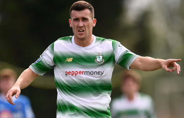 Shamrock Rovers' Aaron Greene wants a top three Premier Division finish for the Hoops