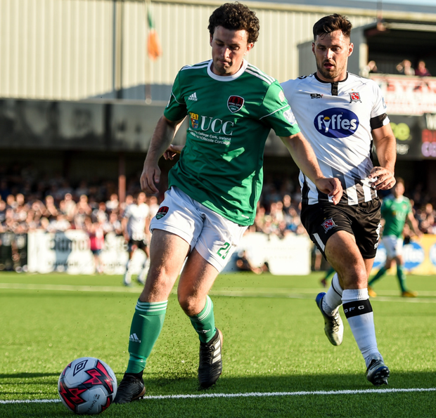 Cork City's Barry McNamee and Dundalk's Pat Hoban will renew rivalries tonight at Turner's Cross