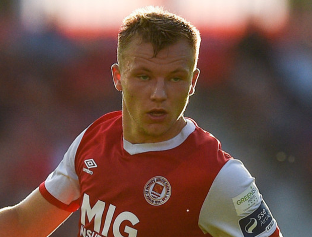 St Pat's midfielder Jamie Lennon has been an ever-present this season