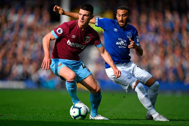 Declan Rice. Pic: Getty Images