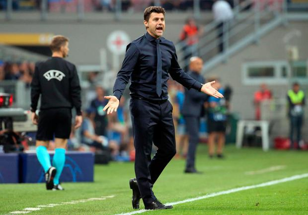 WON'T CHANGE: Pochettino. Pic: AP