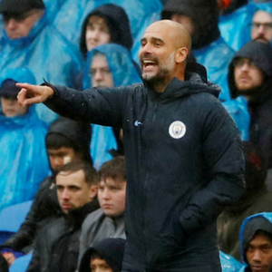 FOCUS: Pep Guardiola. Pic: Reuters