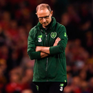 Ireland manager Martin O'Neill, pictured during the loss to Wales last Tuesday