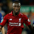 Sidelined: Naby Keita misses today's Huddersfield game through injury