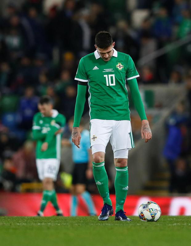 GUTTED: Kyle Lafferty. Pic: Reuters