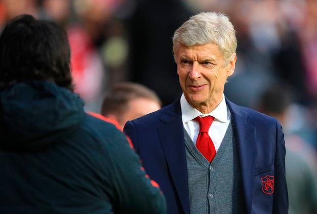 PROPHECY: Former Arsenal boss Arsene Wenger. Pic: PA Wire
