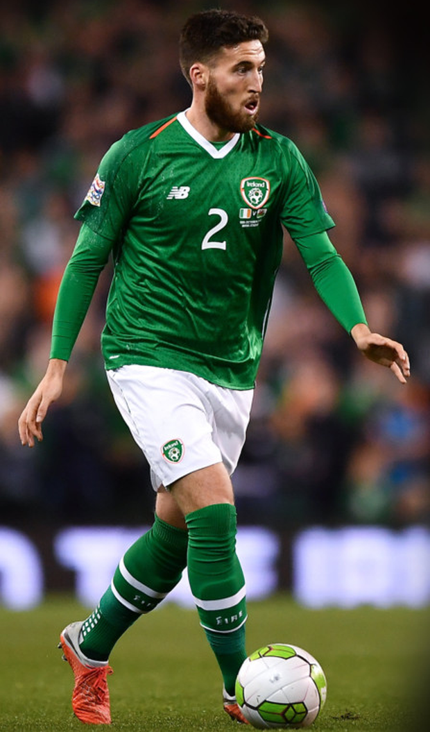 Matt Doherty in action for Ireland against Wales in the Aviva Stadium last October. Pic: Sportsfile