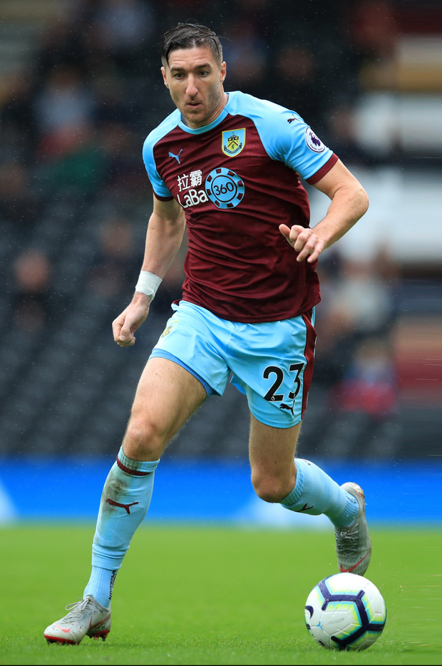 Stephen Ward is pictured during last weekend's Premier League win over Fulham