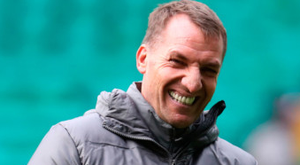 No pressure: Celtic manager Brendan Rodgers is in relaxed mood ahead of this evening's Europa League last-32 second leg against Valencia