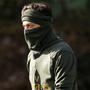 Mesut Ozil during training