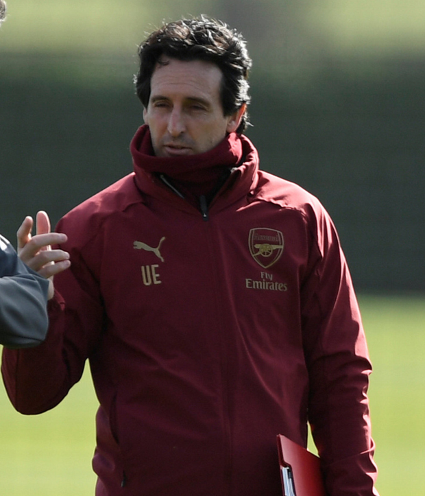 EURO AIM: Unai Emery. Pic: Reuters