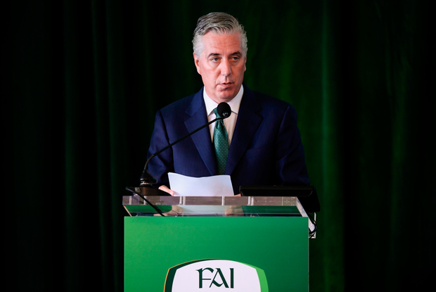 ON LEAVE: Former FAI CEO John Delaney this week stepped down from his role as Executive Vice President of the association. Photo: SPORTSFILE