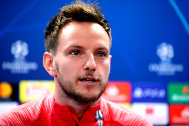 EURO AIM: Ivan Rakitic. Photo: PA