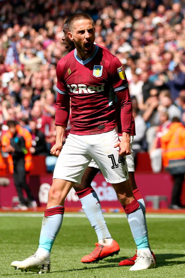 STRIKE: Conor Hourihane. Pic: Getty