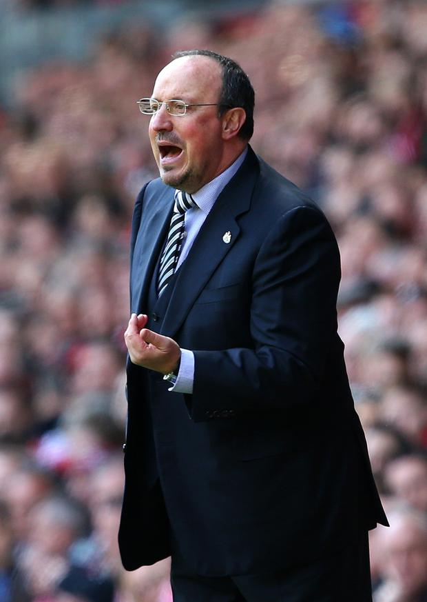 Rafa Benitez. Photo: Getty Images