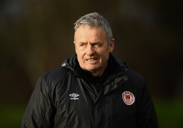 St Patrick's Athletic boss Harry Kenny