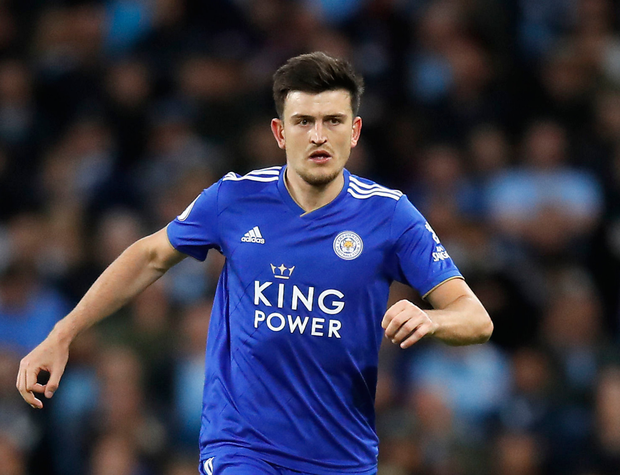 Leicester City centre-back Harry Maguire