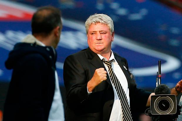 Steve Bruce wants Newcastle fans to give him a chance