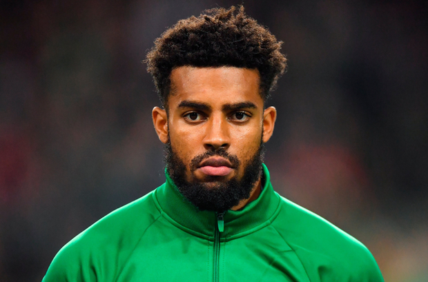 INCIDENT: Cyrus Christie. Pic: Sportsfile